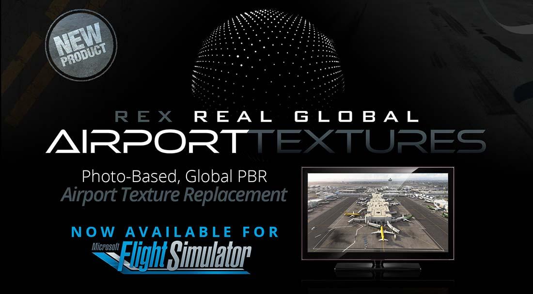 REX Real Global Airport Textures