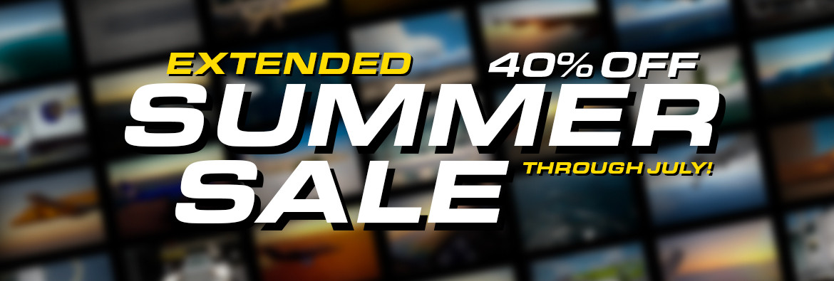 REX Summer Sale Extended through the end of July